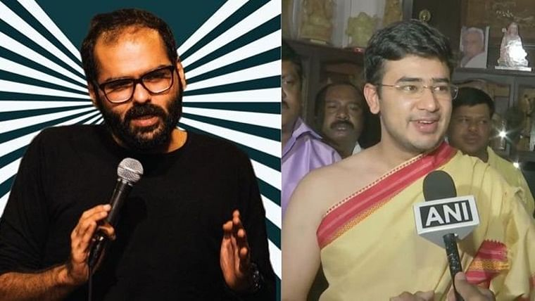'We are particularly good against Left-arm spinners': Tejasvi Surya and Kunal Kamra's epic banter on Twitter