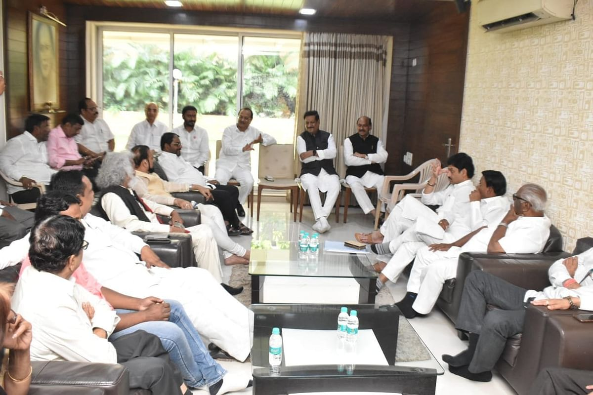 Maha government formation updates: Meeting underway between Cong, NCP and other alliance partners
