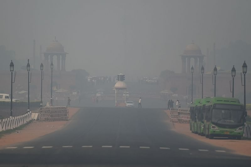 Air pollution crisis: Toxic smog engulfs Delhi, AQI plunges to 'severe plus'