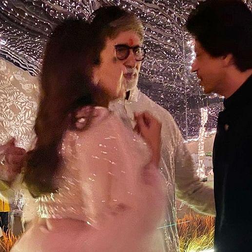 When Amitabh Bachchan, Shah Rukh and Gauri Khan had a 'serious discussion' on Diwali