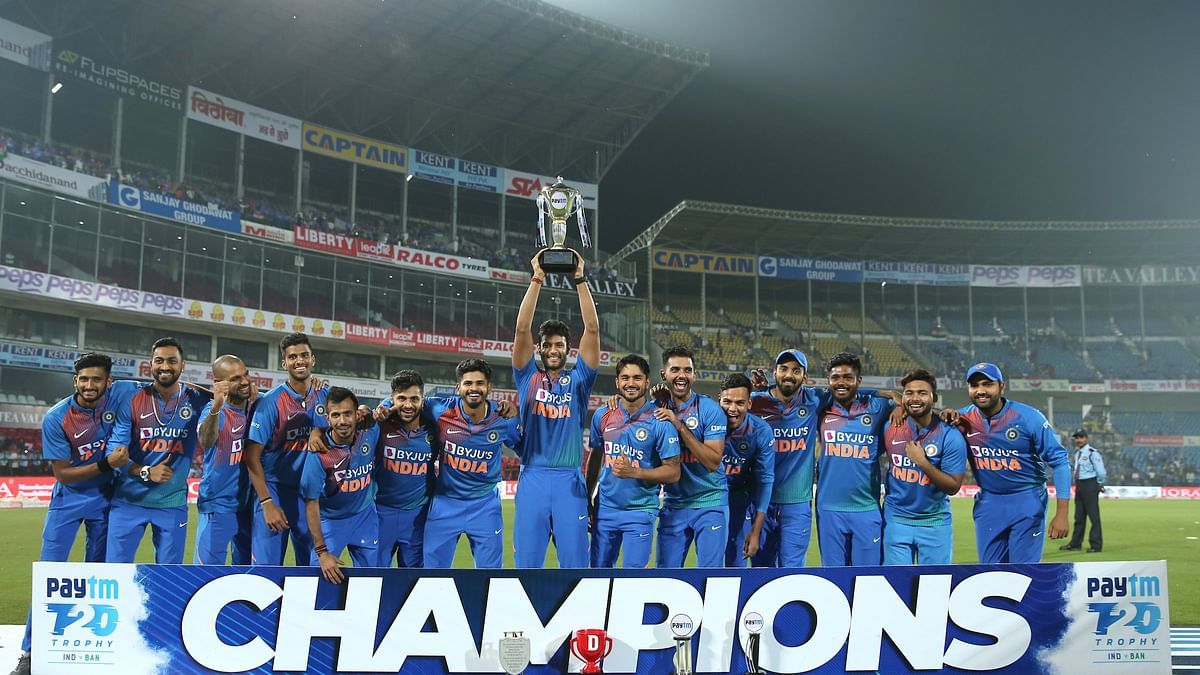 India crowned the champions for their first bilateral T20I series against Bangladesh