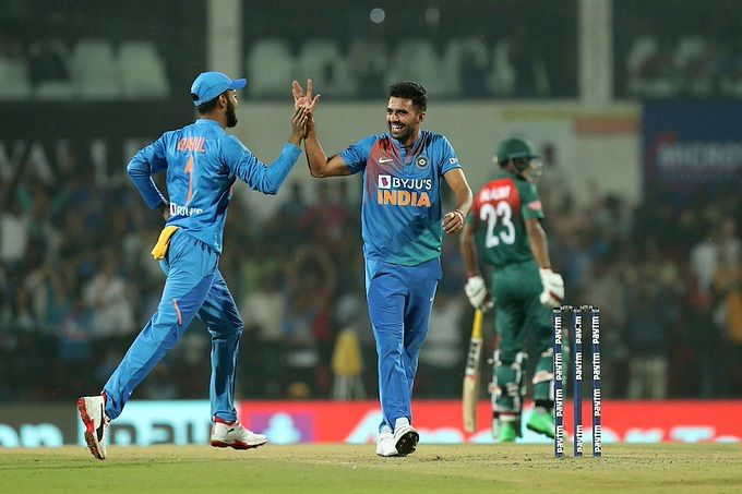 India vs Bangladesh Third T20I: Deepak Chahar hunts down Tigers, registers best T20I bowling figures of 6/7