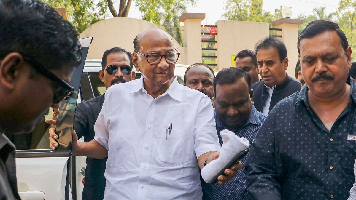 BJP, Sena fought together, ask them about Maha govt formation: Pawar bowls another googly