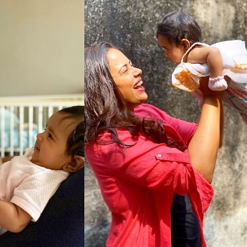 Girl Power! Sameera Reddy shares an empowering post featuring daughter Nyra