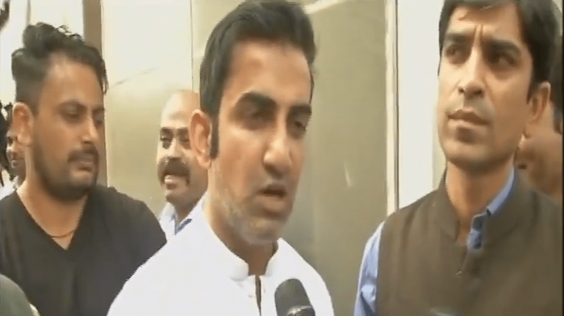 Will stop eating jalebi if it reduces pollution: Gambhir lashes out at journalist