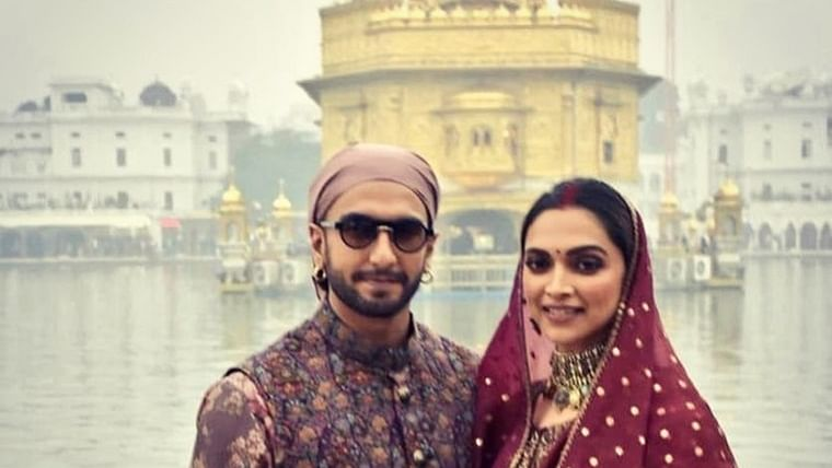 Image result for Deepika Ranveer Amritsar