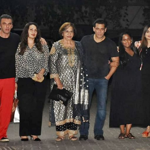 Salman Khan, Waheeda Rehman, Asha Parekh come together to celebrate Helen's 81st birthday