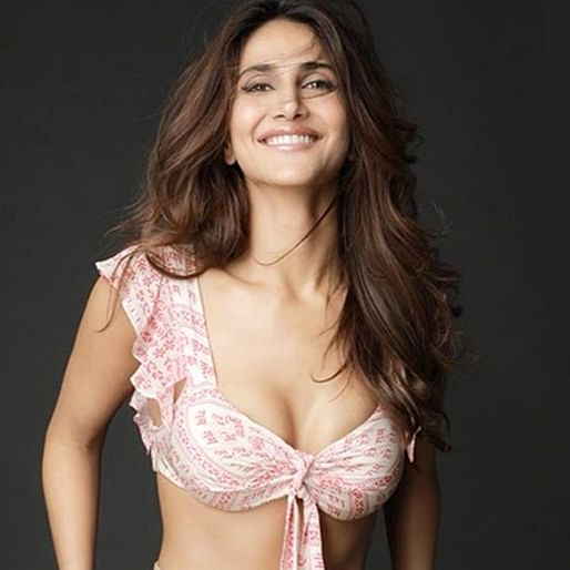 Vaani Kapoor receives flak from netizens for wearing a bikini top with 'Hare Ram' printed on it
