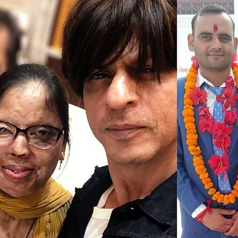 We're not crying, you're crying: SRK posts emotional message for acid attack victim who got married