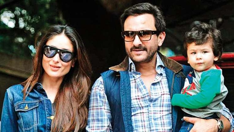 Taimur Ali Khan picks lemonade over posing with parents Saif Ali Khan and Kareena Kapoor Khan