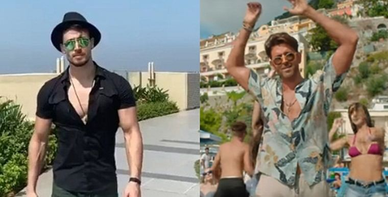 Tiger Shroff recreates 'Ghungroo' for guru Hrithik Roshan, keeps applause from Disha Patani