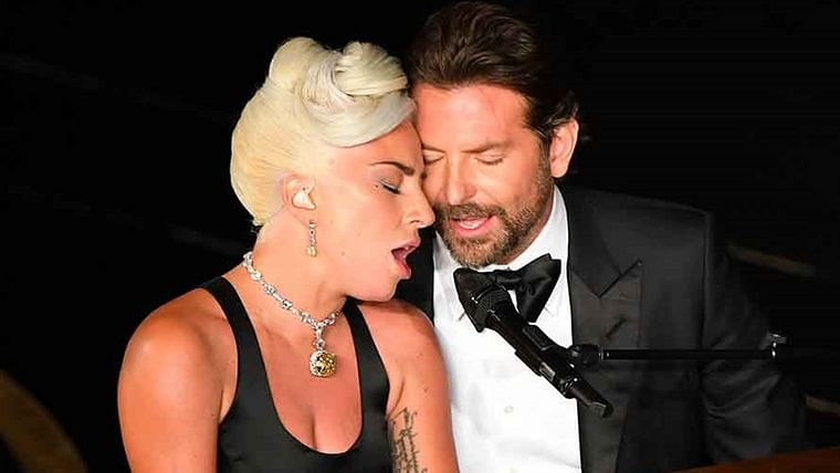 Lady Gaga reveals her intimate Oscars duet with Bradley Cooper was just a stunt