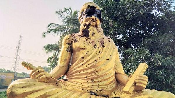Tamil Nadu: Thiruvalluvar statue vandalised, investigation ordered