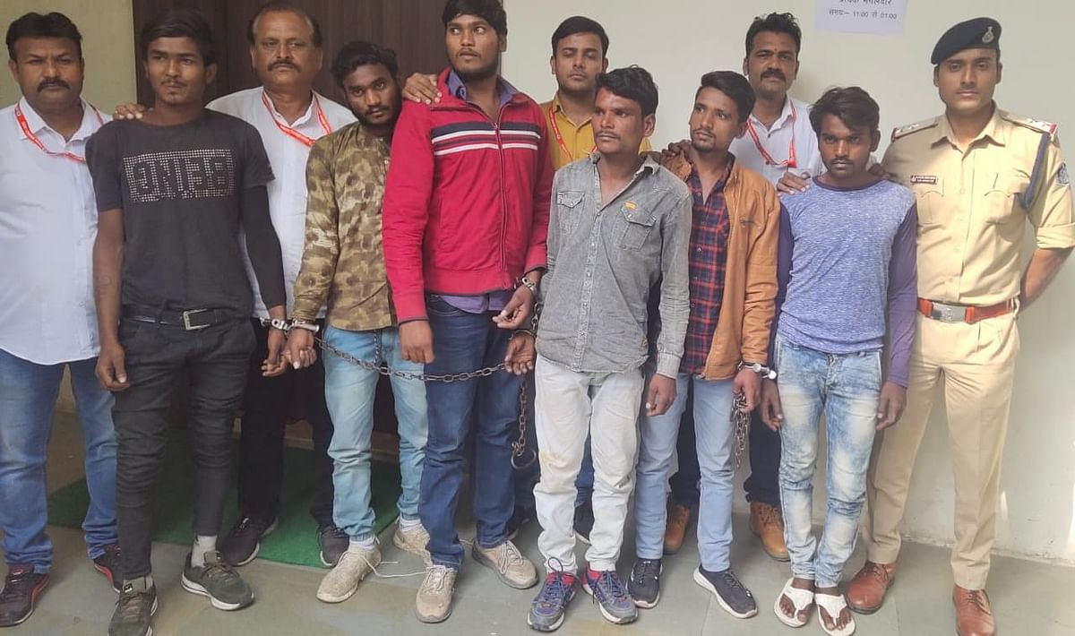 Indore: Six arrested for planning to kill bus agent