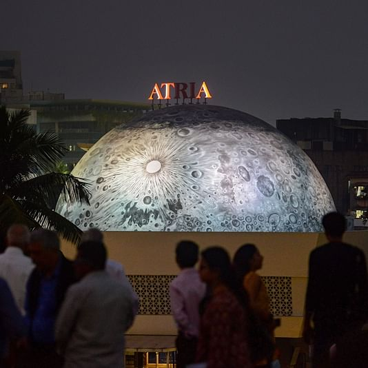 Mumbai: The spectacular Lunar Dome atop the Nehru Planetarium Centre