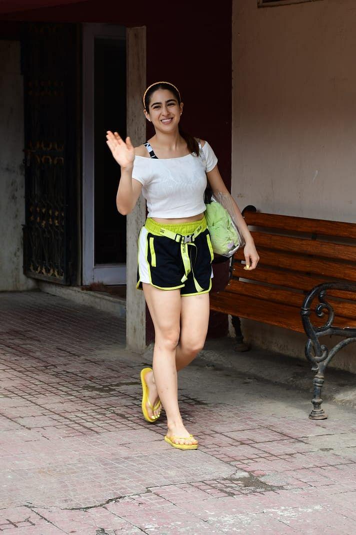 Sara Ali Khan at Pilates