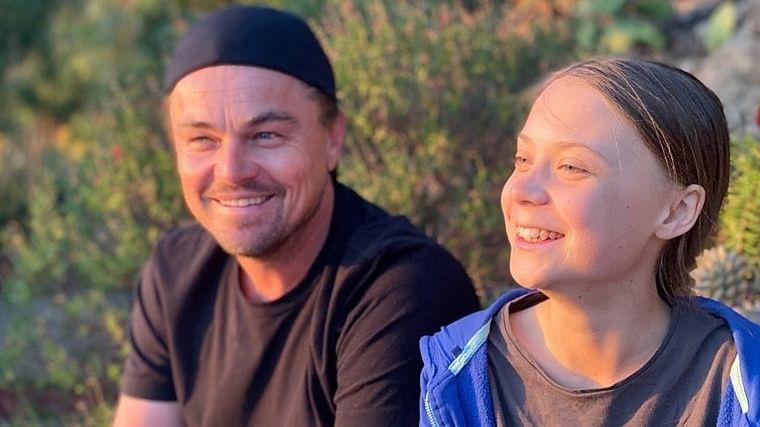 When two climate activists met: What went down Leonardo Di Caprio met Greta Thunberg?