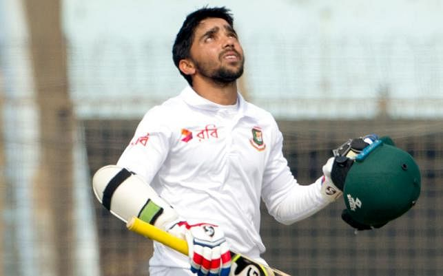 Bangladesh's newly appointed Test skipper Monimul Haque