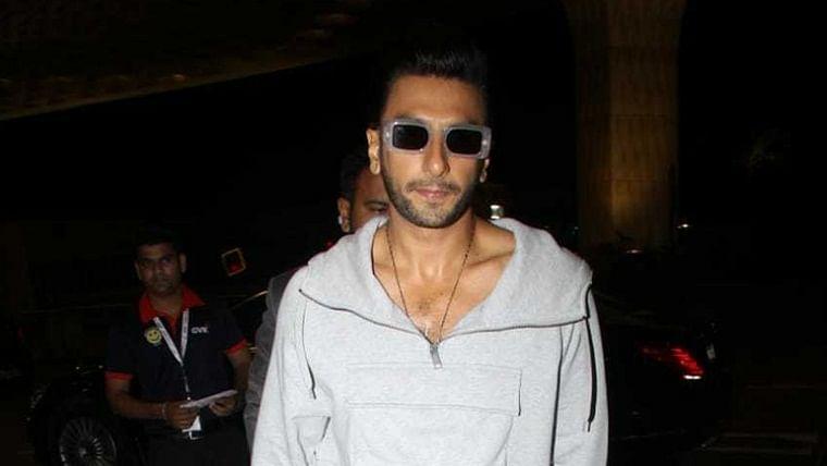 Just a single shade of grey: Is Ranveer Singh feeling okay?