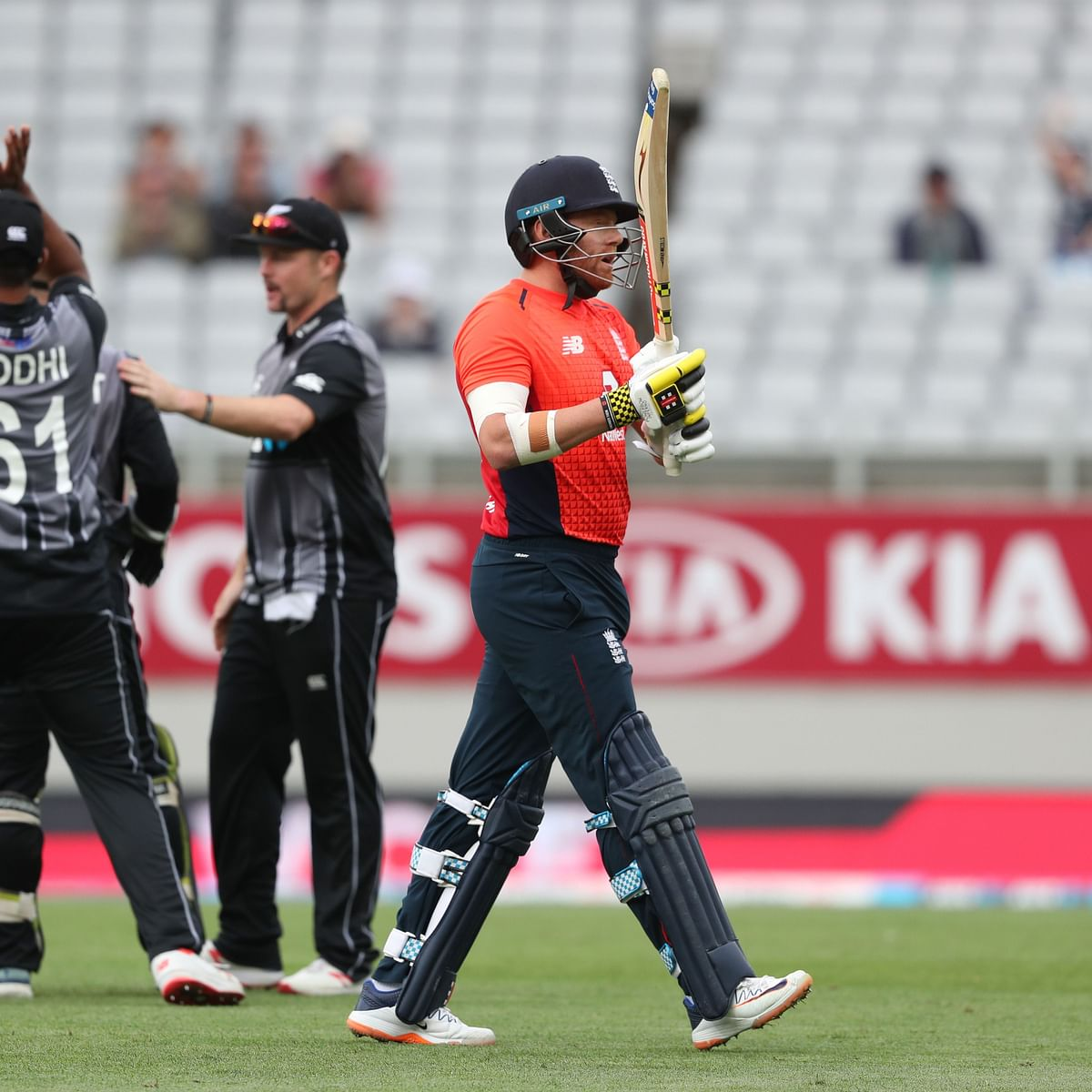 Bairstow receives a demerit point in the final T20I against New Zealand