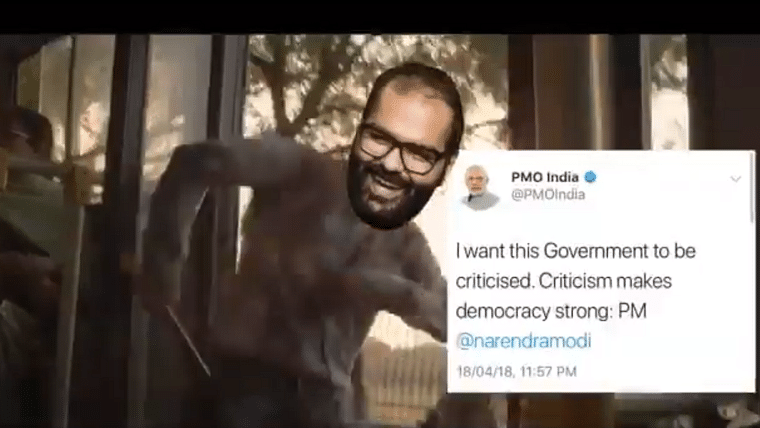 Watch: The Kunal Kamra and Narendra Modi mashup to SRK's Fan that is going viral