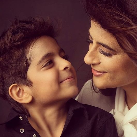 Tahira Kashyap shares son's sketch from 'Bala', says that is his 'recall value' of his dad