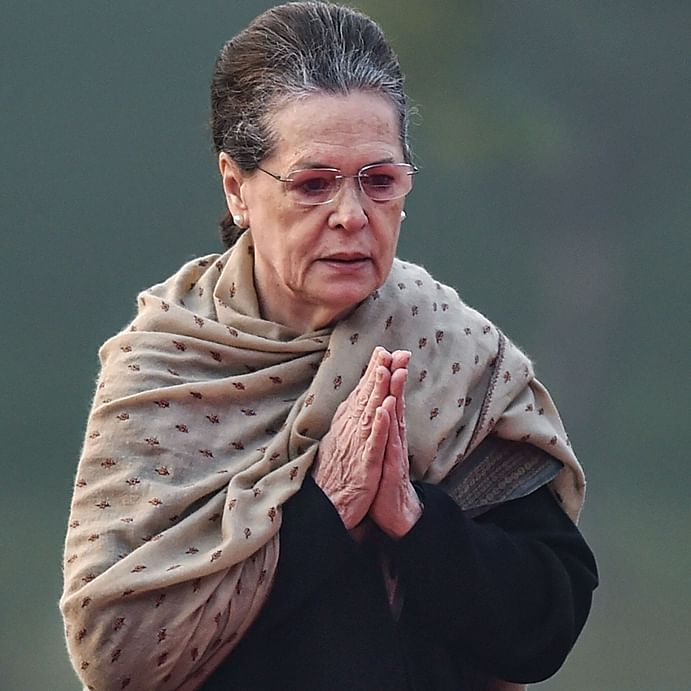 'No comments', says Sonia Gandhi on Maharashtra government formation