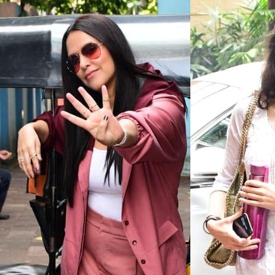 Paparazzi Files: Neha Dhupia, Shanaya Kapoor, and other celebs put their best fashion foot forward