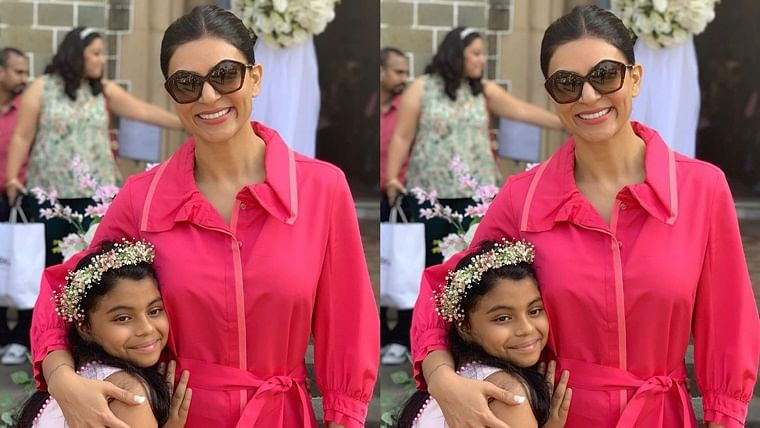She had me in tears: Sushmita Sen gets emotional after daughter Alisah pens an essay on adoption