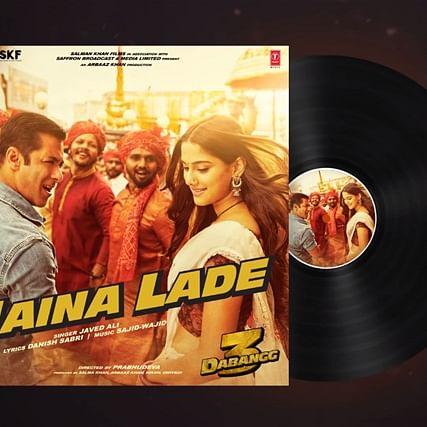 Salman Khan drops 'Naina Lade' song from Dabangg 3