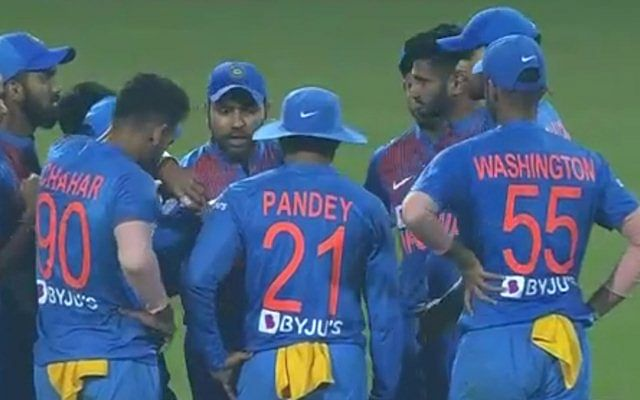 When Rohit took a leaf from Kabir Khan's book and gave a Chak De style speech ahead of the third T20I