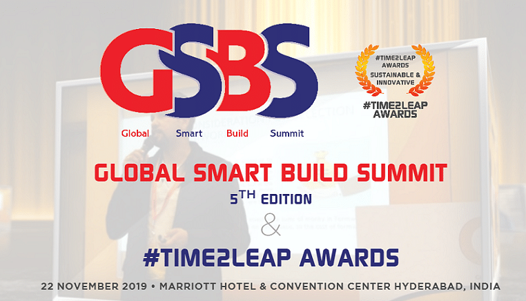Global Smart Build Summit and #Time2Leap Awards 2019