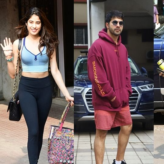 Celebrity 'TGIF' moments featuring Janhvi Kapoor, Varun Dhawan, Malaika Arora and others