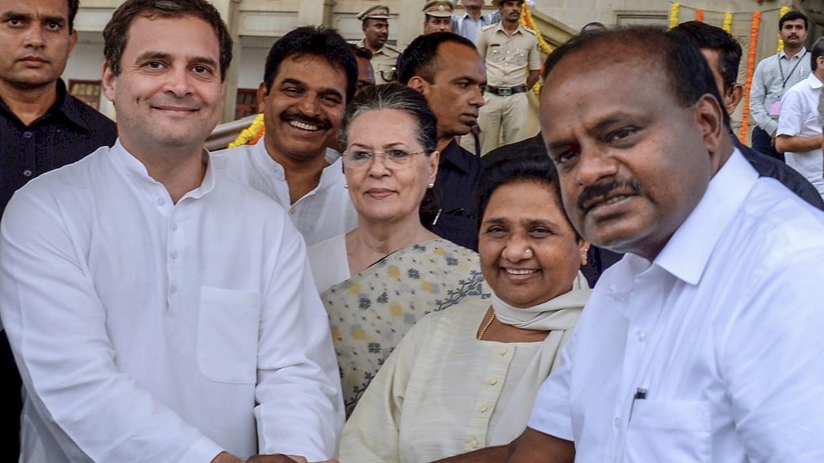 Paying them in the same coin: Kumaraswamy urges Cong to ally with BJP in Maha