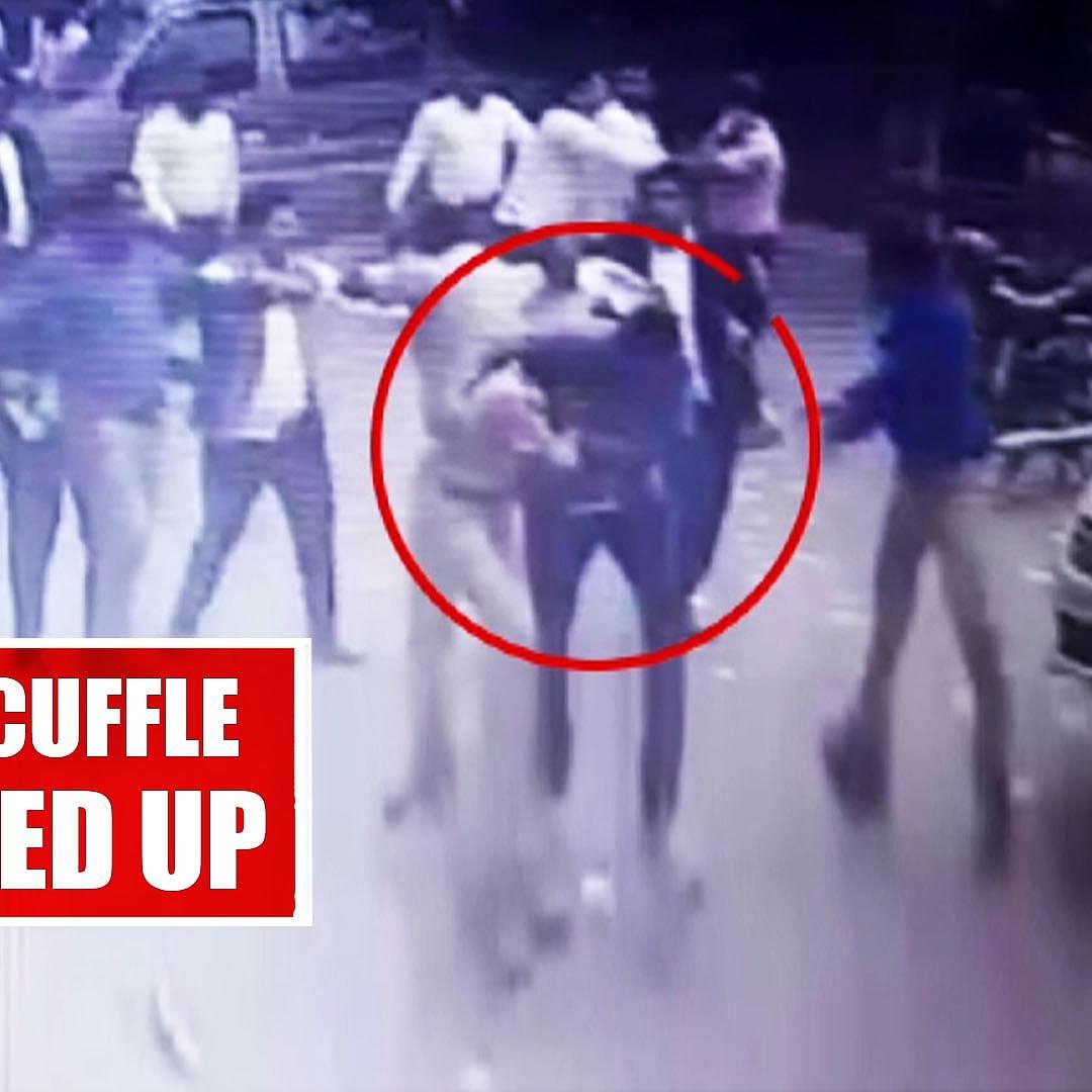 Tis Hazari Court Scuffle: Lady DCP Being Roughed Up In Clash In Delhi