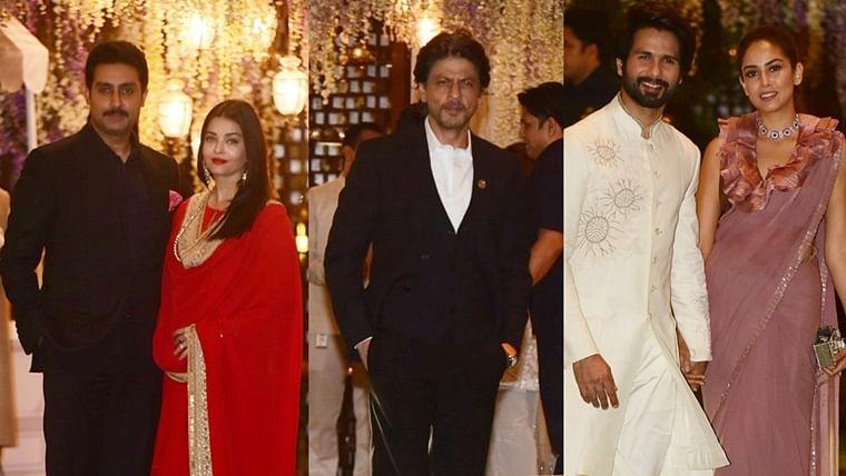 Aishwarya, SRK, Shahid and other stars light up Antilia for Mukesh Ambani's niece's pre-wedding bash