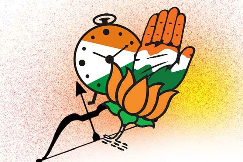 BJP-Shiv Sena split unites a divided Congress-NCP