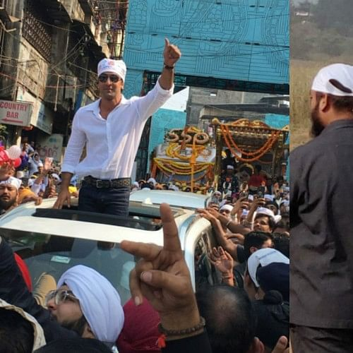 550th Guru Nanak Jayanti: Ranbir Kapoor gets surrounded by a crowd as he visits a Gurudwara in Ulhasnagar