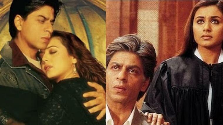 Seeing Shah Rukh Khan as an old man was really awkward: Rani Mukerji on 15 years of 'Veer-Zara'