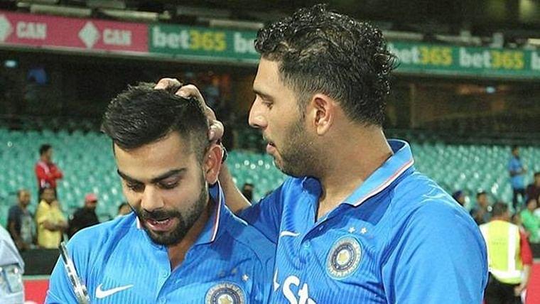 'Uparwaale ke diye sab din mehr hain paji': Virat Kohli thanks Yuvraj Singh for birthday wish