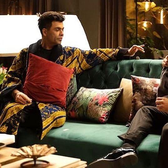 Karan Johar in soup? Bollywood mogul tickles funny bone in latest avatar