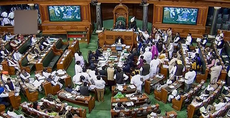 Parliament Winter Session Updates: Rajya Sabha adjourned till 2 pm following uproar