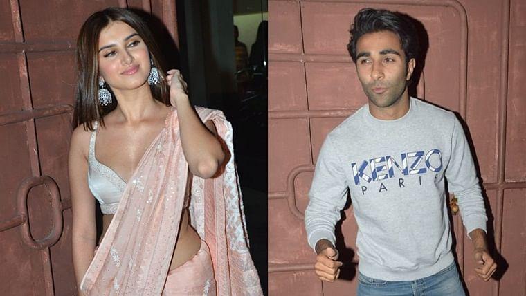 Tara Sutaria's rumoured beau Aadar Jain attends 'Marjaavaan' screening