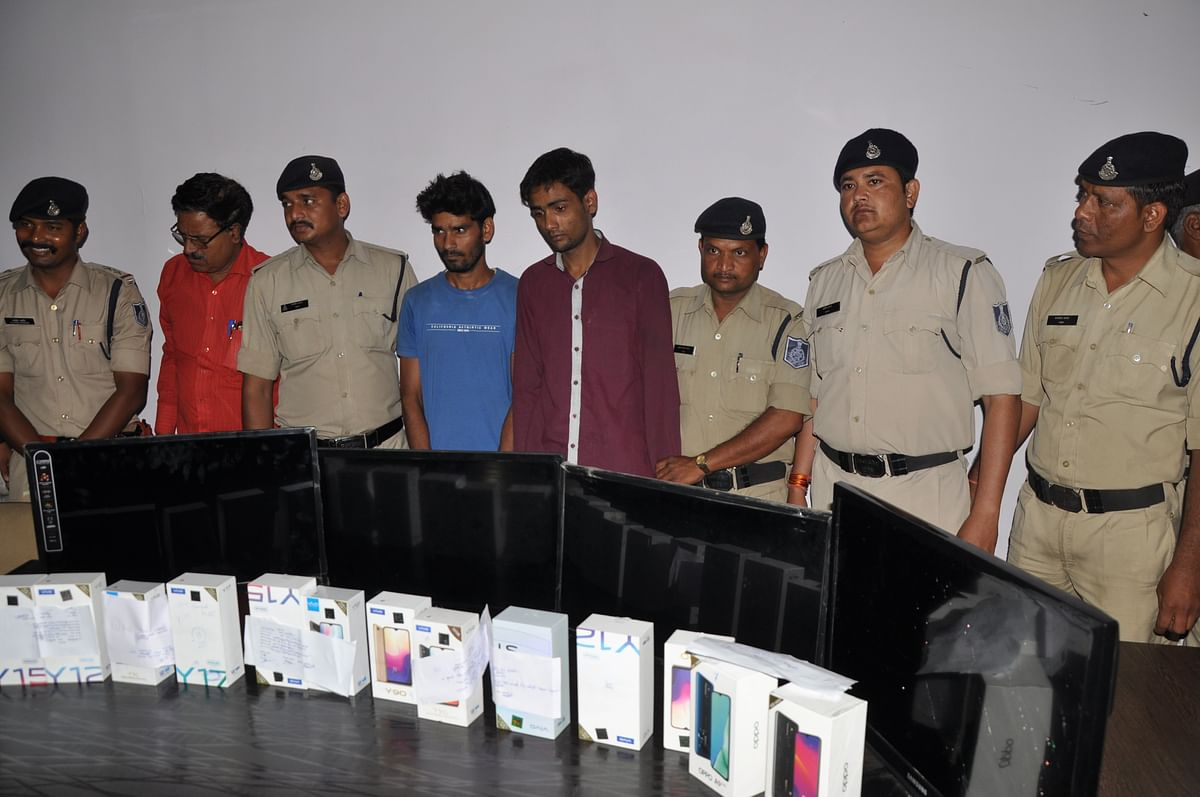 Indore: Two from Vidisha arrested with stolen goods worth Rs 3 lakh