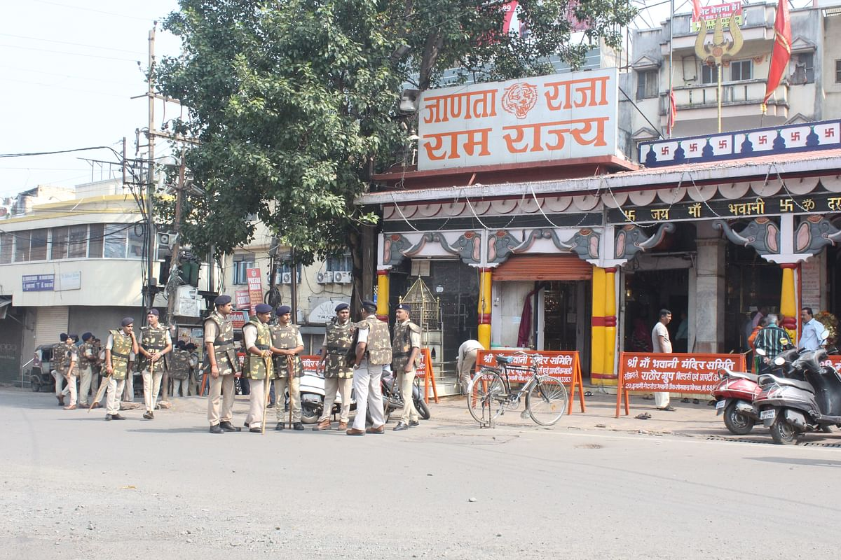 Bhopal: Silence prevailed at otherwise bustling spots