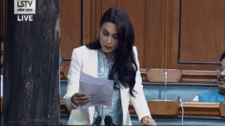 Watch: TMC MP Mimi Chakraborty bats for stricter laws against torturous treatment of dogs