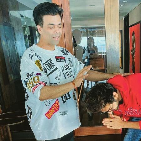 Kartik Aaryan starts shooting for 'Dostana 2' with 'Dharma rivaaz'