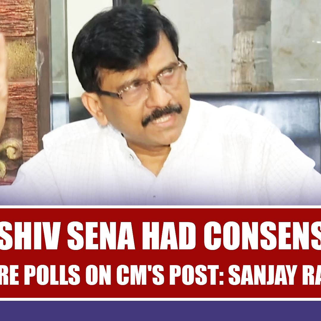 BJP, Shiv Sena Had Consensus Before Polls On CM's Post: Sanjay Raut
