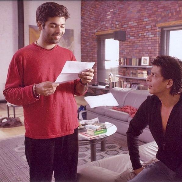 Karan Johar's birthday wish for 'older brother' Shah Rukh Khan is giving us the feels