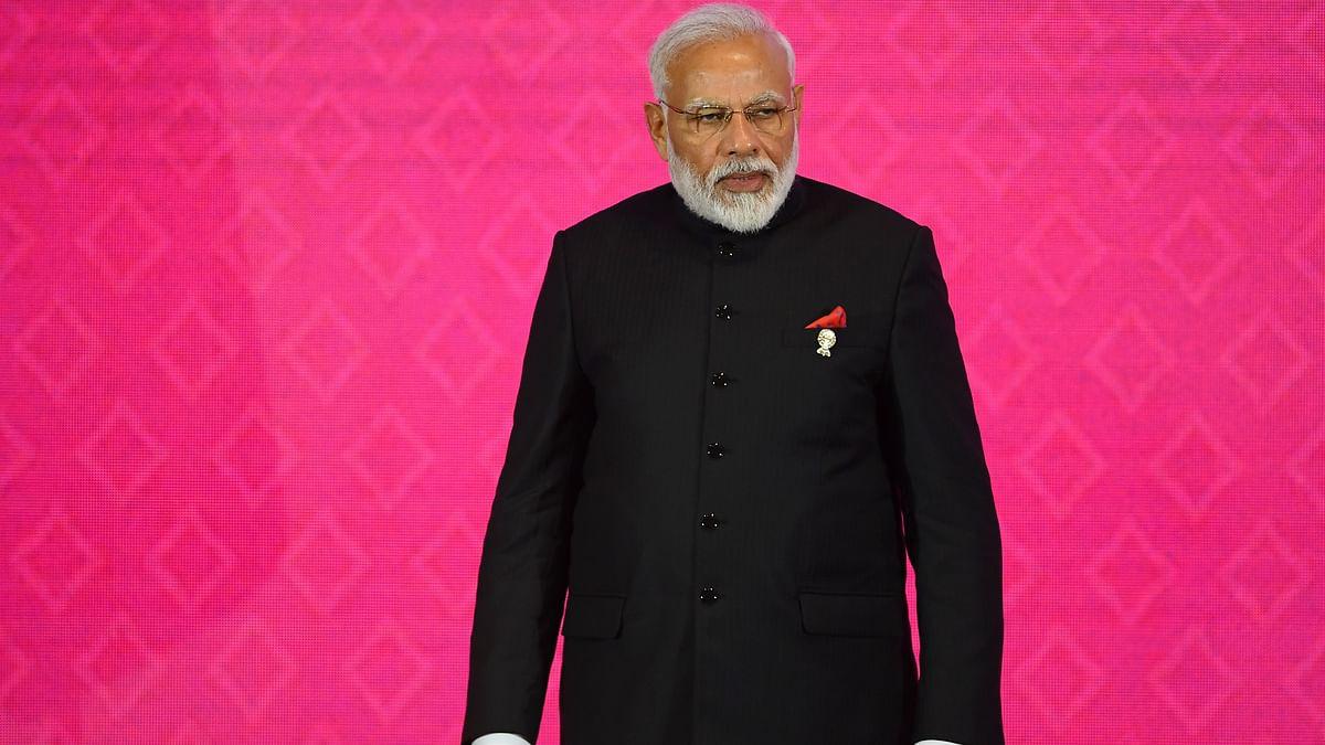 India's Prime Minister Narendra Modi attends the 3rd Regional Comprehensive Economic Partnership (RCEP) Summit in Bangkok.